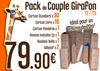 Pack du Couple de Girafons (T2/T3)