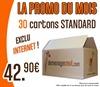 PROMO 30 Cartons Standard